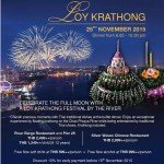 Chatrium Loy Krathong