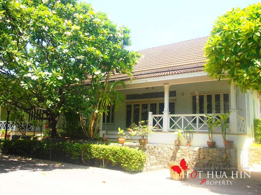 House in Hua Hin Beach Front Community for sale, AG-B4089