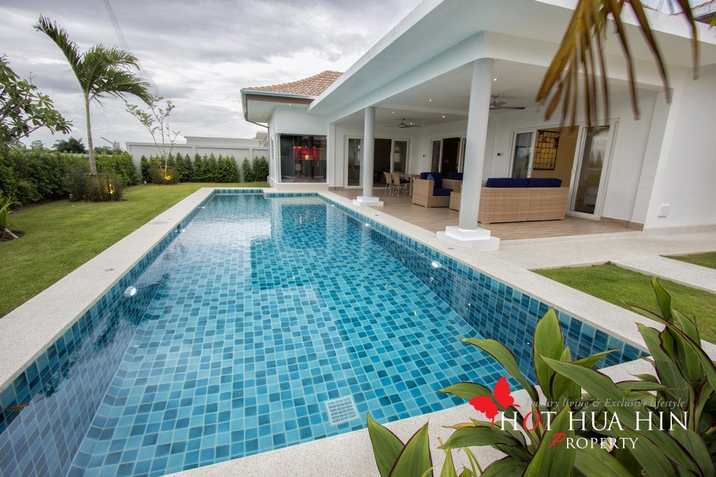 Well built and designed pool villa by multi-award winning developer