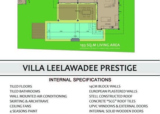 Villa Leelawadee - Back
