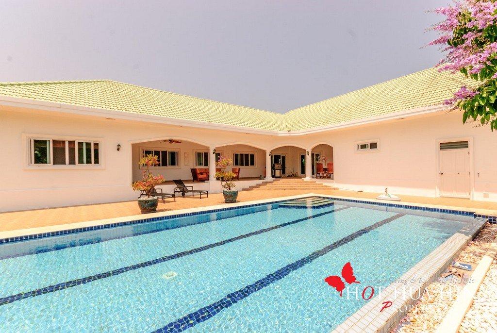 Pool Villa in desirable south end of Hua Hin