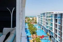 Top Floor Two Bedroom Sea Condo in Desirable Koh Takiab