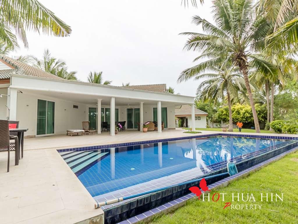 Well Designed Two Bedroom Pool Villa on Large Land Plot