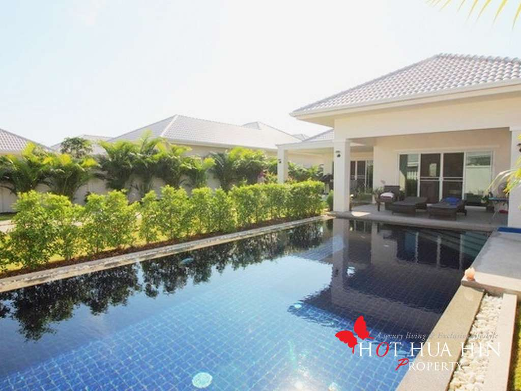 Three Bedroom Pool Villa West Of Hua Hin