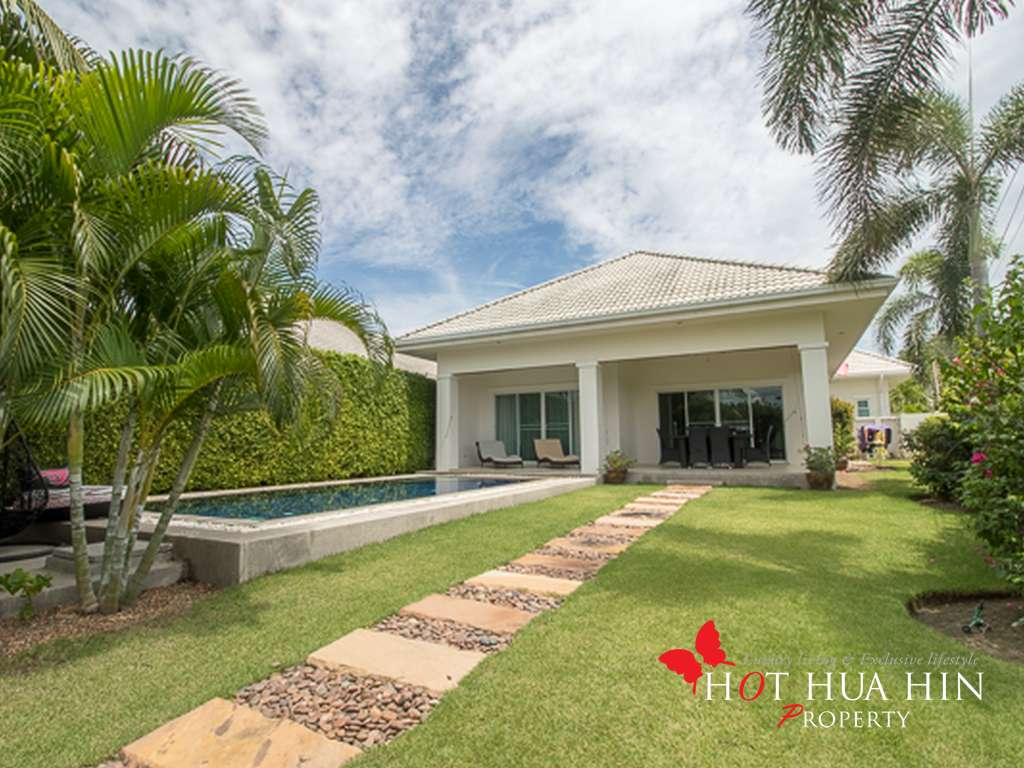 Two Bedroom Pool Villa with Covered Terrace