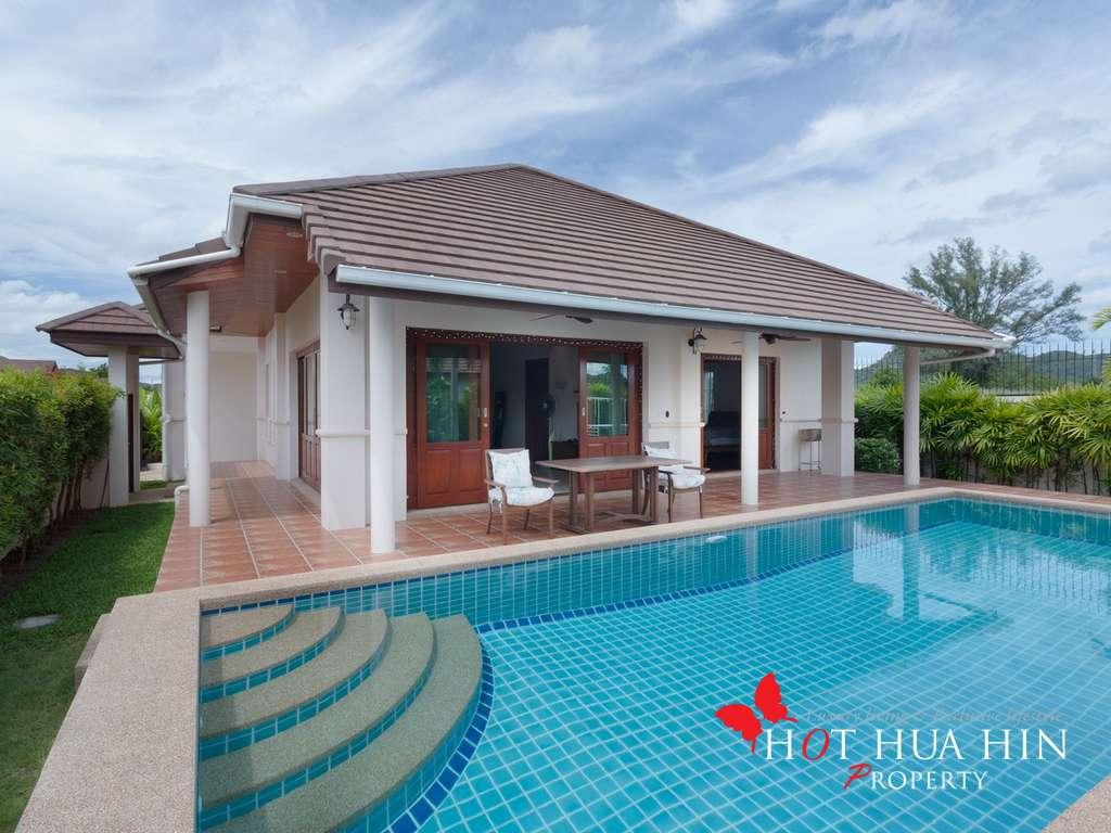 Well Built Asian Pool Villa