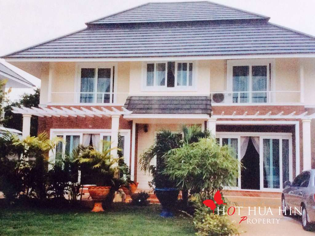 Four bedroom home located close to Hua Hin center at a terrific price