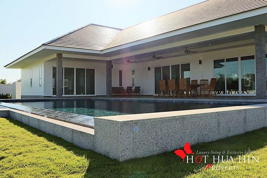 Brand New Well Built Pool Villa On Large Land Plot