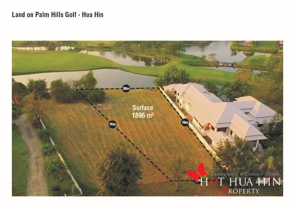 Pristine Golf Course Land at Palm Hill, Hua Hin