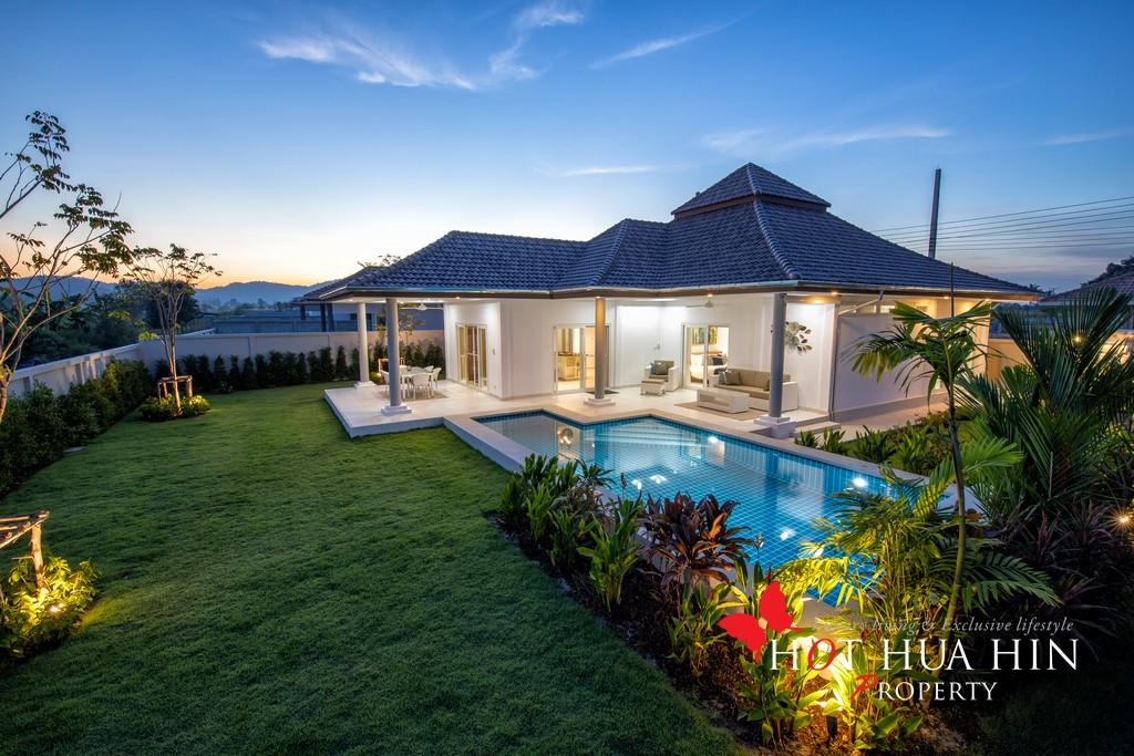 Terrific Value In A 3 Bedroom Pool Villa From An Award Winning Developer