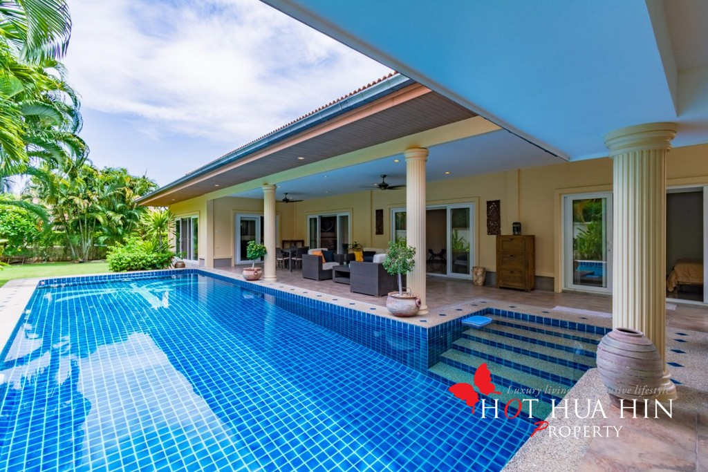 High Quality 3 Bedroom Pool Villa