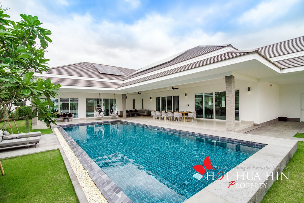 Quality 3 Bedroom Pool Villa With Professional Gym & Steam Room