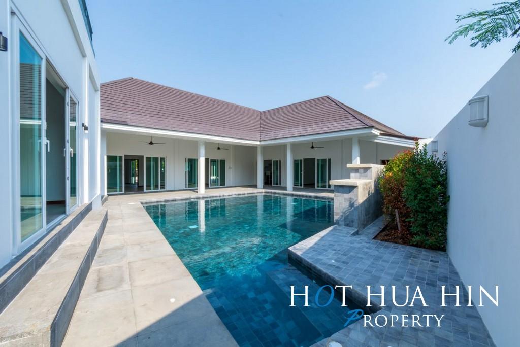 4 Bed Pool Villa, Quality Built