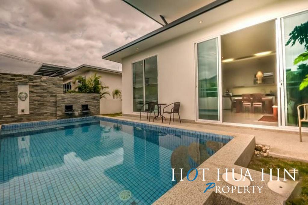 Two Bedroom Pool Villa Close To City