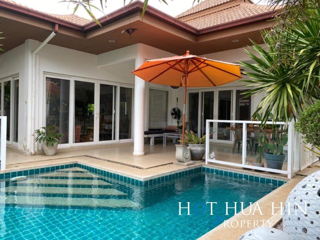 Great Value Three Bedroom Pool Villa