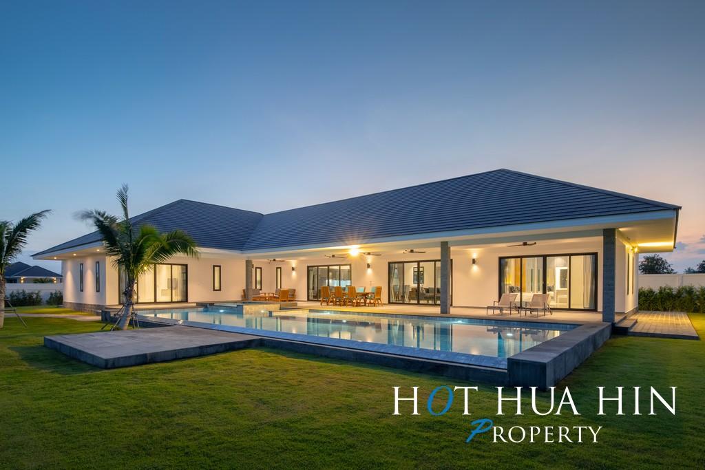 Brand New 4 Bedroom Pool Villa On Big Land