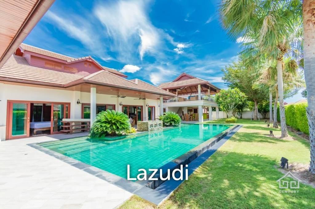 Large Luxury Thai-Bali Style Pool Villa