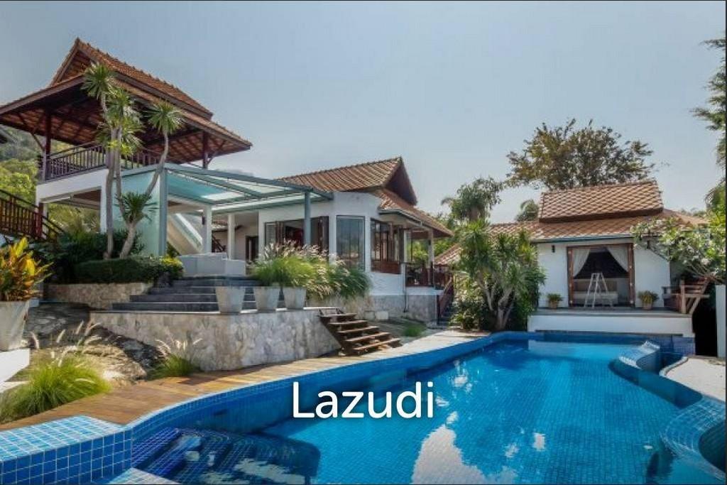 4 Bed Bali Style Pool Villa Villa With Ocean Views