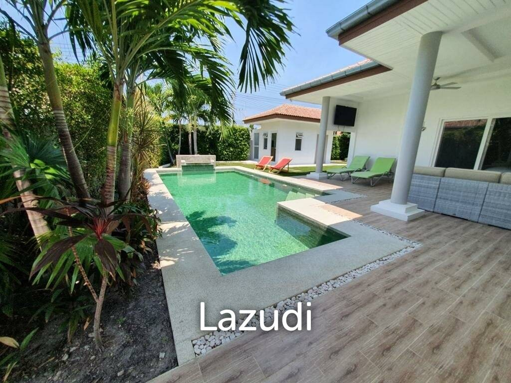 4 Bed 3 Bath Pool Villa From One Of Hua Hin's Best Developers